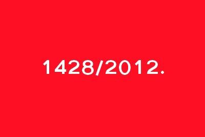 1428/2012.
