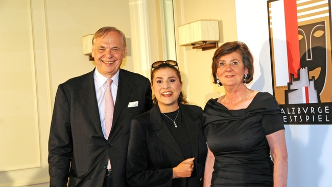 Alexander Pereira, Cecilia Bartoli, Helga Rabl-Stadler