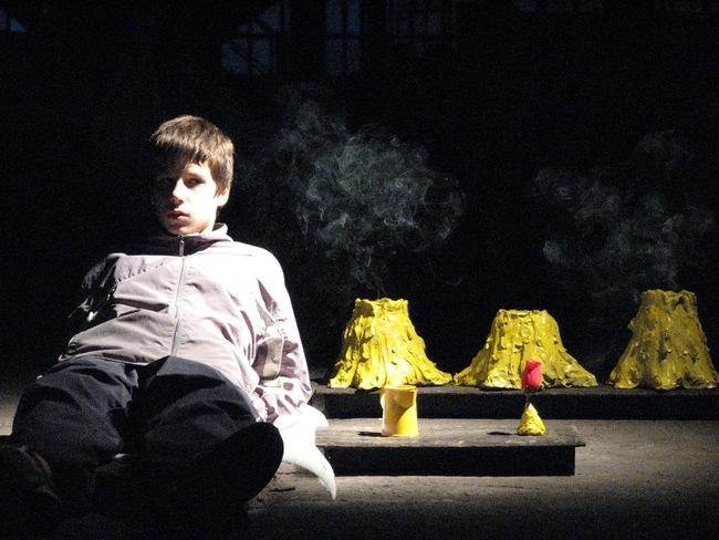 A kis herceg (próba) - Skrabák Máté Márton és a tűzhányók