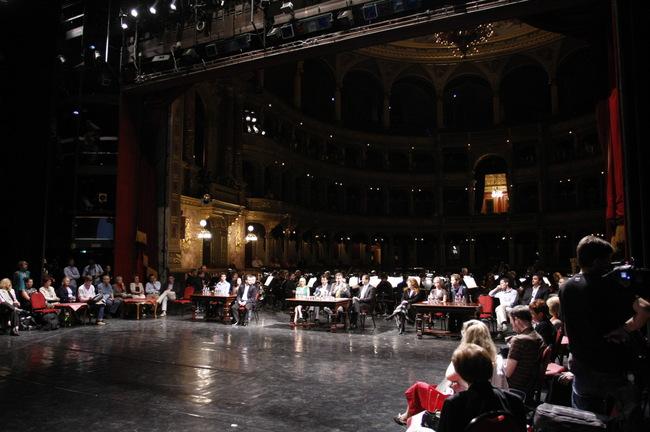 Sajtótájékoztató az Operaházban