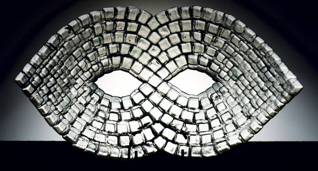 Meghívó a Bárdudvarnoki Üveg Alkotótelep kiállítására a Csiky Gergely Színházba