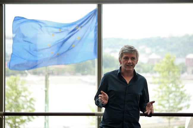 Sajtótájékoztató a Nemzeti Színházban, 2012. május 24. - Alföldi Róbert