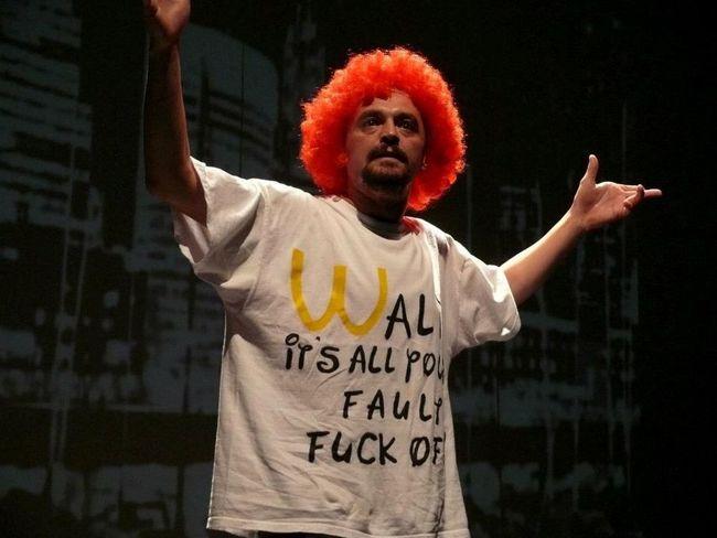 Ronald, a McDonald's bohóc
