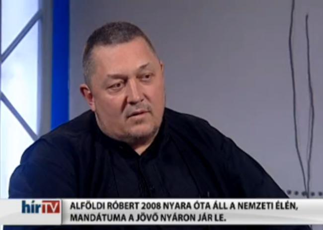Vidnyánszky Attila a Hír TV Kontraszt című műsorában