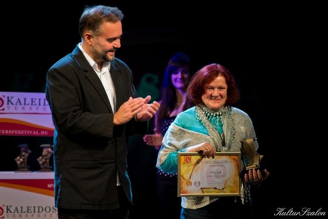 Koltai Judit Kaleidoszkóp-díjas