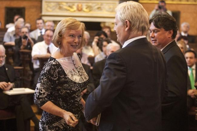 Kubik Anna átveszi a díszpolgári címet