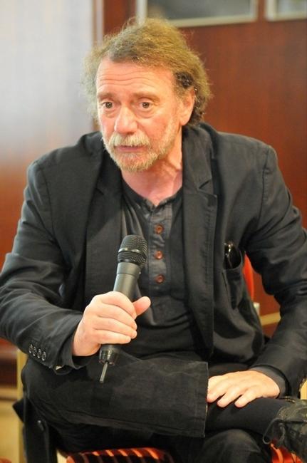 Valló Péter rendező a szakmai beszélgetésen
