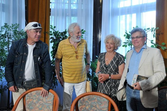 Gáspár Sándor, Szakonyi Károly, Margitai Ági, Márta István