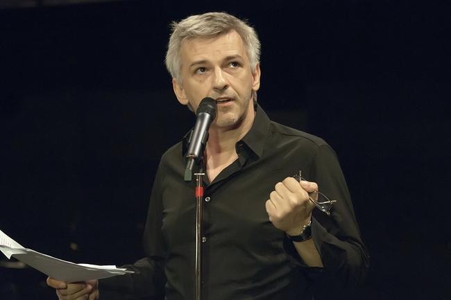 Sajtótájékoztató a Nemzeti Színházban, 2013. június 30. - Alföldi Róbert