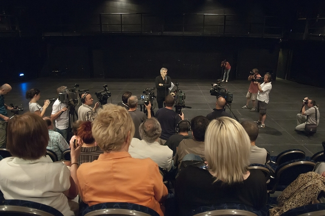 Sajtótájékoztató a Nemzeti Színházban, 2013. június 30.