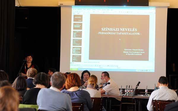 Németh Mónika a pedagógiai tapasztalatokról beszél