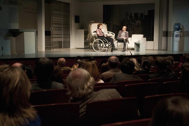Antal Zsuzsa és Rudolf Péter a Centrál Színház színpadán