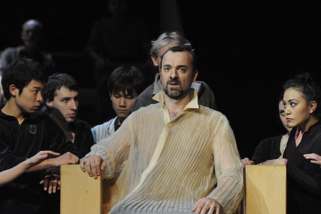 Oedipus Rex - középen: Christophe Poncet
