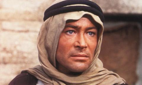 Peter O'Toole az Arábiai Lawrence-ben