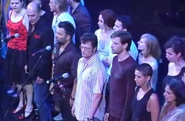 Utolsó percek a Nemzeti Színházban