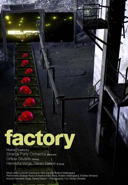 Factory - plakát