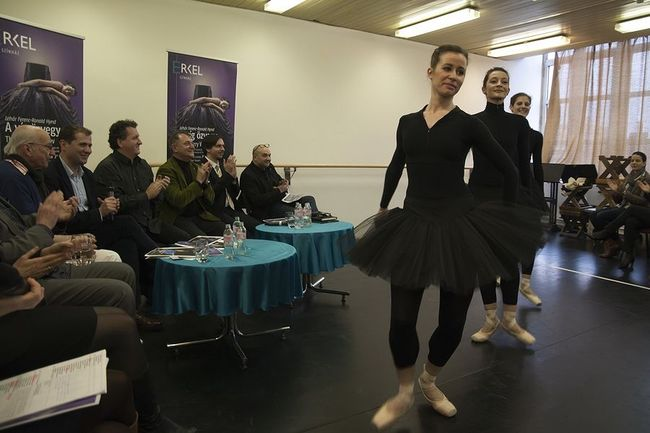 A Magyar Nemzeti Balett sajtótájékoztatója
