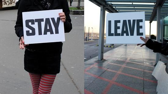 Leaving is not an option?/Menni vagy maradni?