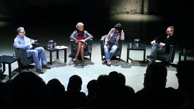 Máté Gábor, Rubina Möhring, Csáki Judit és Mattyasovszky Bence