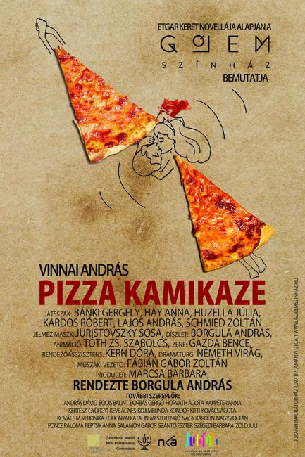 Pizza Kamikaze plakát