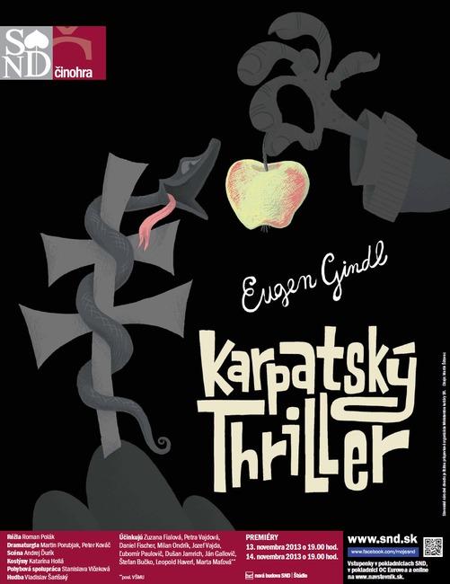 Karpatský thriller - plakát