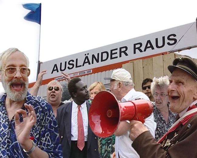 Christoph Schlingensief:Ausländer raus – Bitte liebt Österreich, 2000