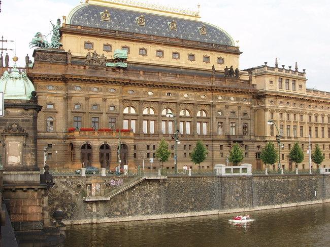 Nemzeti Színház (Národní Divadlo), Prága