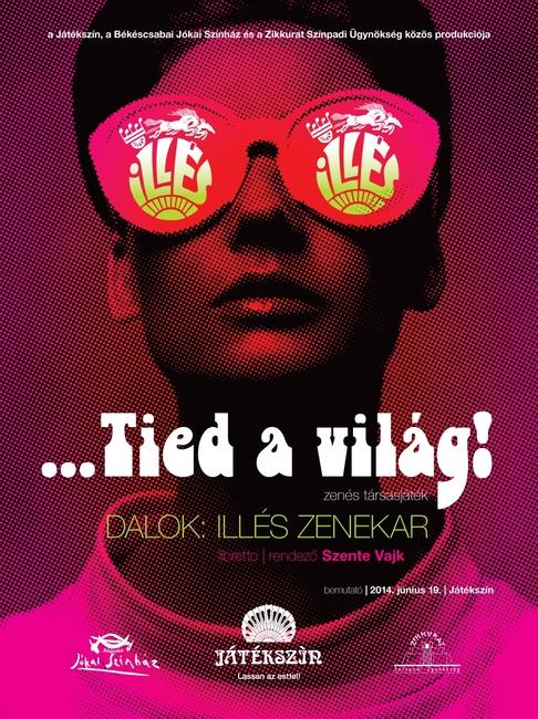 …Tied a világ! - plakát