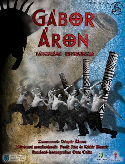 Háromszék Táncegyüttes: Gábor Áron - plakát