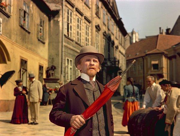 Rajz János a Szent Péter esernyője című filmben (1958)