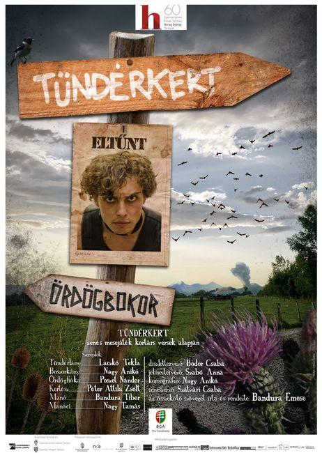 Tündérkert - plakát