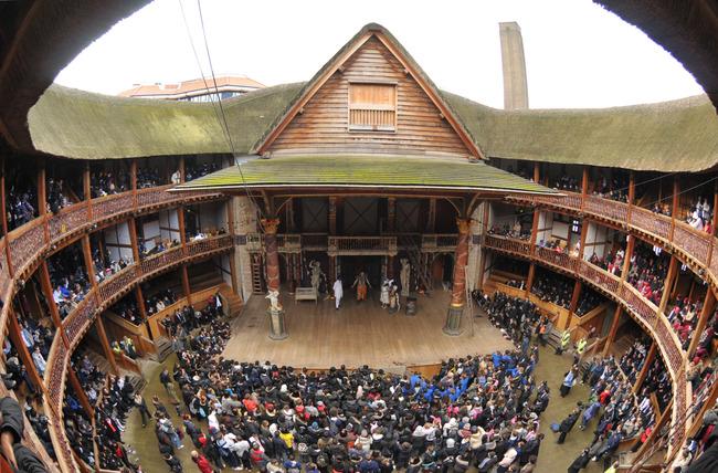 Shakespeare's Globe Theatre (londoni Globe Színház)
