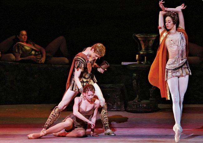 Spartacus - a moszkvai Bolsoj Balett előadása