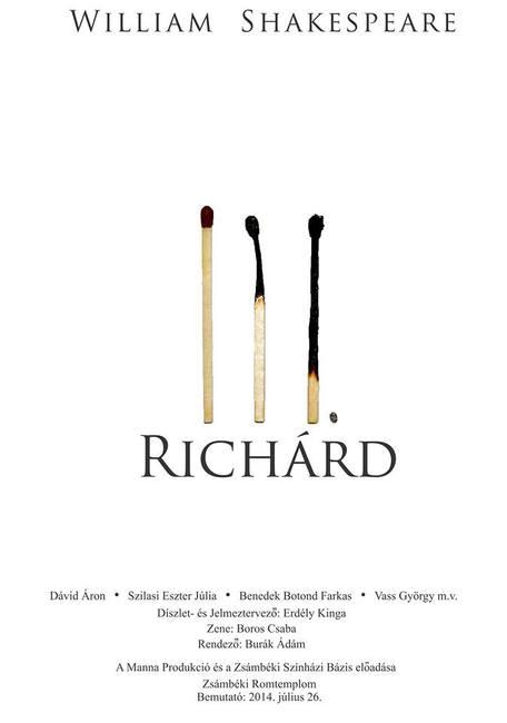 III. Richárd - plakát