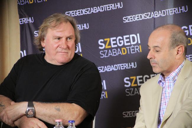 Gérard Depardieu, Harangozó Gyula