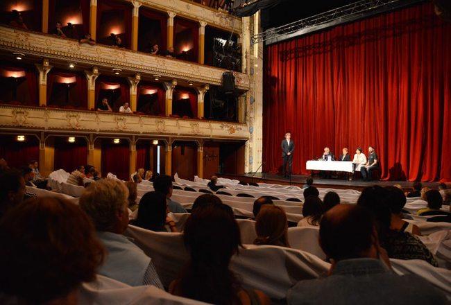 Csiky Gergely Színház évadnyitó társulati ülése