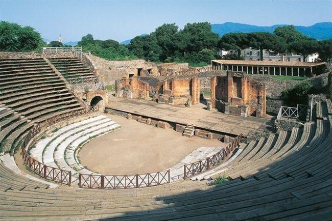 Teatro Grande, a pompeji ókori színház