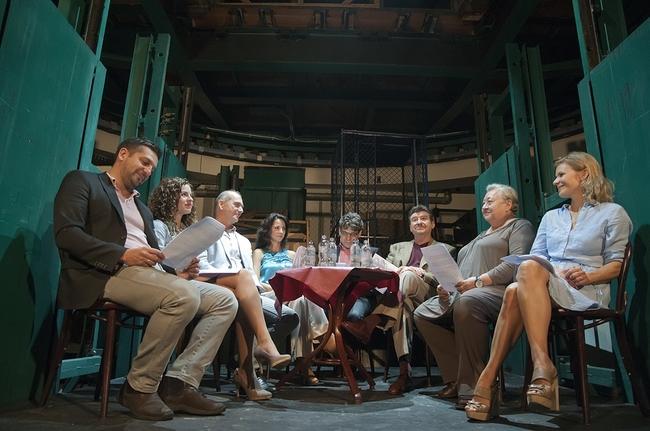 A Hőstenor sajtótájékoztatója a Thália Színházban