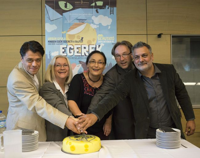 Crespo Rodrigo, A. Szabó Magda, Ráckevei Anna, Fekete Péter és Nyári Oszkár