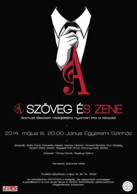 Szöveg és Zene plakát