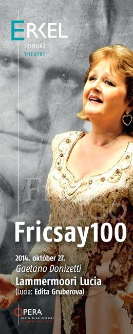 Fricsay100 Minifesztivál - plakát