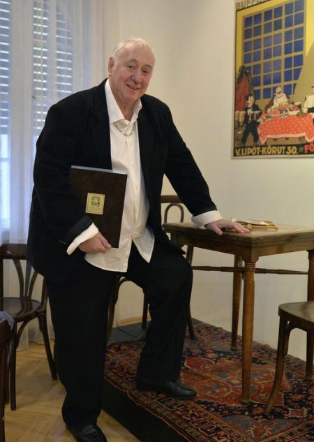 Magasházy István az Aase-díjjal
