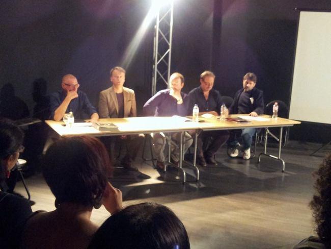 Gerd Taube, Németh Ákos, Lutz Hübner, Stefan Fischer-Fels, Vidovszky György
