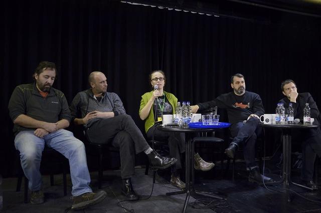 Schilling Árpád, Horváth Csaba, Tompa Andrea, Mundruczó Kornél és Pintér Béla