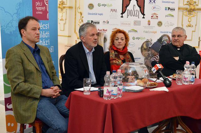 Rázga Miklós, dr. Páva Zsolt, Kőhalmi Andrea, Stenczer Béla