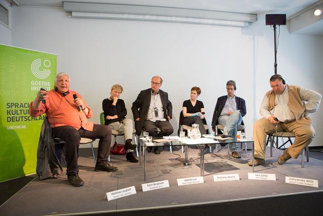 Matthias Langhoff, Karin Bergmann, Joachim Lux, Kricsfalusi Beatrix, Imre Zoltán, Vidnyánszky Attila