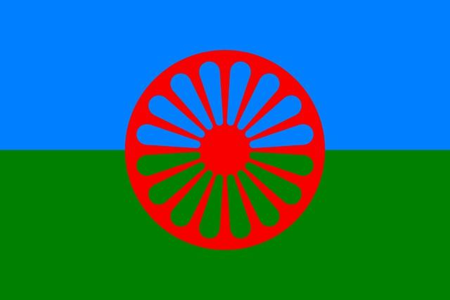 Roma zászló
