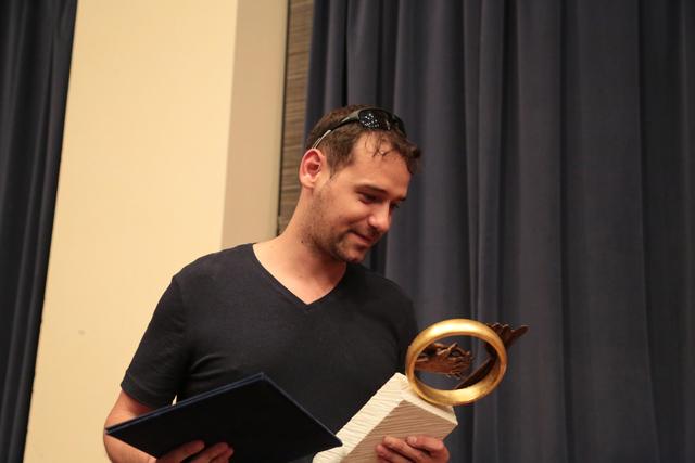 Schruff Milán a díjátadáson