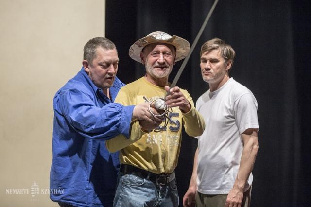 Don Quijote (próbafotó) - Vidnyánszky Attila, Reviczky Gábor, Trill Zsolt