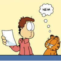 Garfield lean lesz: 8